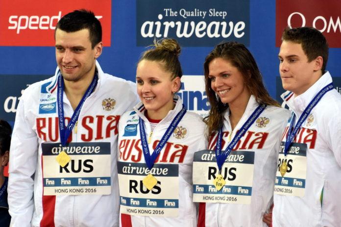 Пловцы России