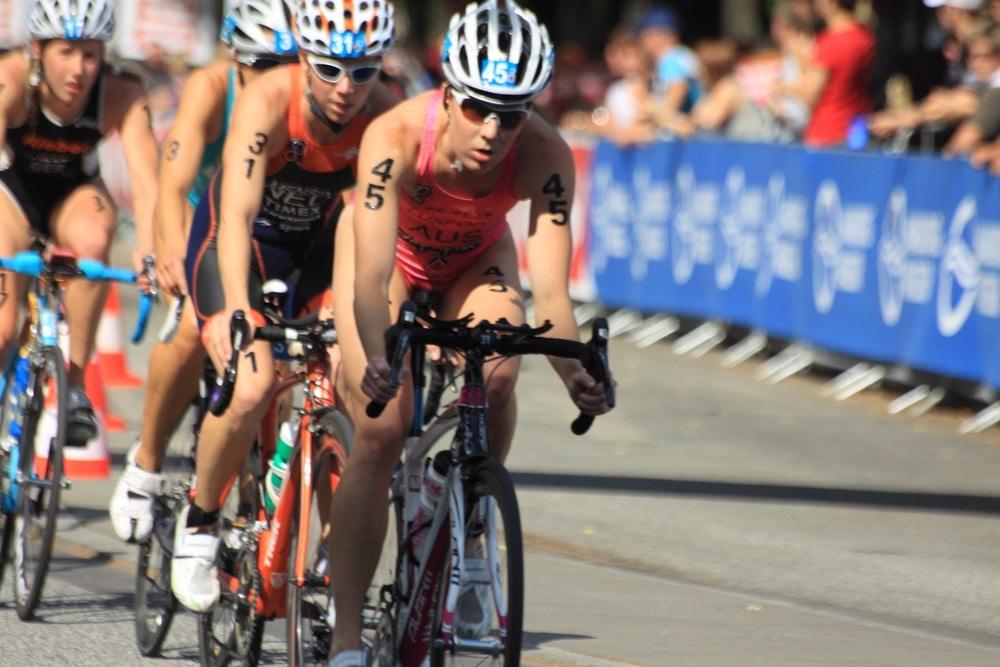 Триатлон велогонка