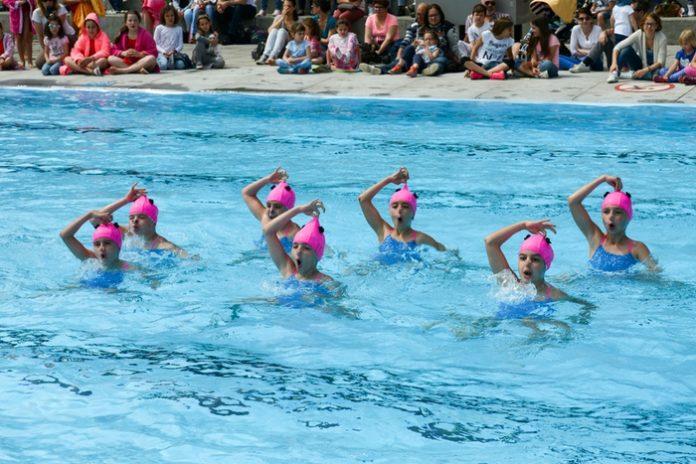 Синхронное плавание для детей
